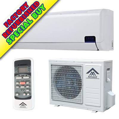 Reconditioned or Scratched & Dented A37GW2C-i2 | Amvent 12000BTU Cool Only  INVERTER Mini Split AC - SEER 19 0