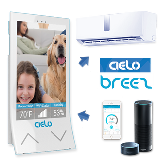 Cielo Breez Smart Wifi Thermostat+Controller