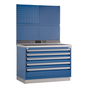 Fixed Tool Drawer Cabinet Rousseau R5XHG-4004 in AB