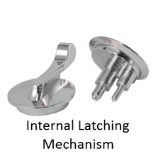 Bathroom Stall Repair Parts Concealed Latches Surface
