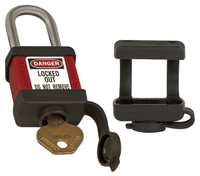 Master Lock #400COVER safety padlock cover (padlock not included)