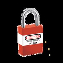 Master Lock #461 wrap-around padlock labels (padlock not included)