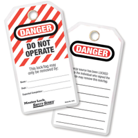 #497A Customizable Lockout/Tagout Tag