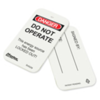 #S4529 Safety Tag