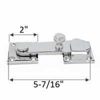 Heavy Duty ADA Compliant Throw Latch for Bathroom Stalls