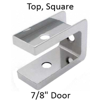 Bathroom stall top hinge door insert #90H411