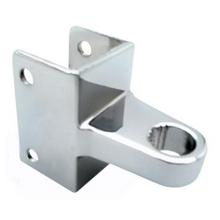 Bathroom stall hinge bracket for top OR bottom. #90H148