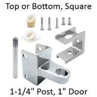 Hinge replacement pack for top or bottom hinge