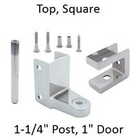 Top bathroom stall hinge replacement pack #63360