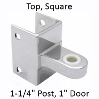 Top bathroom stall hinge bracket #90H185