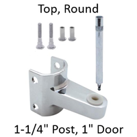 Top bathroom stall hinge replacement pack #63200