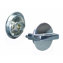 Concealed latch set for bathroom stall doors using #90L206 internal mechanism