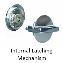 Bathroom Stall Repair Parts, Concealed Latches, Surface ...