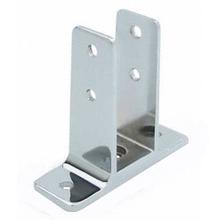 "Urinal screen wall bracket for 1-1/4"" bathroom stall panel. Extra High"