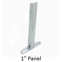 "Urinal screen ""wing"" bracket for 1"" bathroom stall panel"
