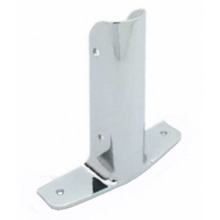 "Urinal screen ""wing"" bracket for 1-1/4"" bathroom stall bracket"