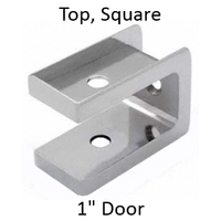 "Bathroom stall top hinge door insert for 1"" door"