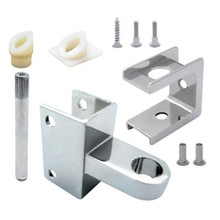 """Bathroom stall hinge replacement pack for 1"""" pilaster and 1"""" door"""