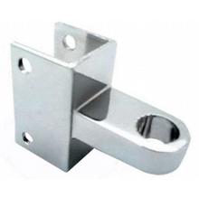 "Bathroom stall top OR bottom hinge bracket for 1"" pilaster and 1"" door"