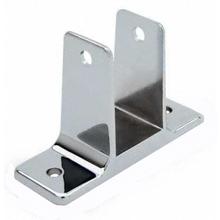 "Two ear wall bracket for 1-1/4"" bathroom stall panel"