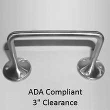 ADA Compliant Door Pull. Satin Stainless Steel