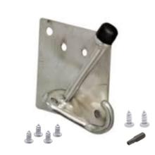 Coat Hook/Door Stop repair kit for bathroom stalls