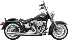 Bassani - Road Rage 2-into-1 Systems Chrome, Long - Fits '86-'16 FXS, FXST,FLS,FLST