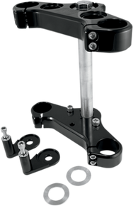 Speed Merchant - 39MM Speed Triple Trees - Fits '91-'05 FXD, '88-'99 FXR, and '88-'16 XL