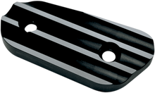Joker Machine - Sportster Inspection Cover - Finned, Black Anodized - Fits '04-'16 XL