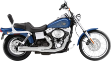 Bassani - Road Rage 2-into-1 Exhaust Systems Chrome, Short - Fits  '91-'05 FXD/FXDWG With Forward or Mid Controls