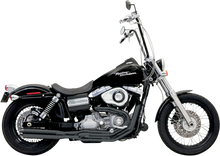 Bassani - Road Rage II B1 Power 2-into-1 Systems - Black fits '91-'16 FXD, FXDWG W/ Mid or Forward Control (Except FLD)