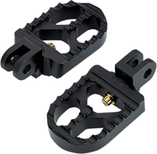 Joker Machine - Adjustable Short Footpegs - Black fits Triumph (see desc.)