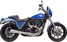 Bassani - Road Rage III 2-into-1 Exhaust System Stainless Steel - Fits  '84-'94, '99-'00 FXR