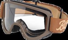 Biltwell Inc. - Moto Goggles 2.0 - Script Chocolate