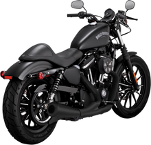 Vance & Hines - Upsweep 2-into-1 Exhaust System - Black fits '04-'16 XL Models