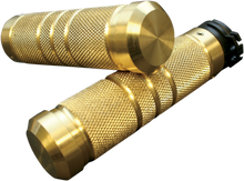 Accutronix - Custom Grips - Knurled/Grooved, Brass