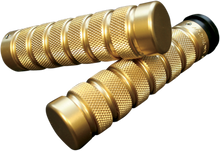Accutronix - Custom Grips - Knurled/Notched, Brass fits HD Models (see desc.)