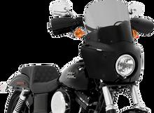 Memphis Shades - Road Warrior Windshield - Black Smoke (Choose Height)