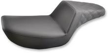 Saddlemen - Step-Up Rear Diamond Stitched Seat - Fits '84-'94, '99-'00 FXR