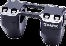 """Trask Assault Risers for 1""""Harley Handlebars Black"""