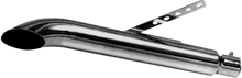 EMGO - Turnout Style Muffler - Chrome