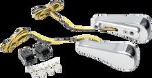 Alloy Art - LED Front Signal Lights - Fits FLTR Models