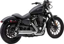 Cobra - Powerpro HP 2-into-1 RPT Exhaust System - fits '07-'13 Sportster