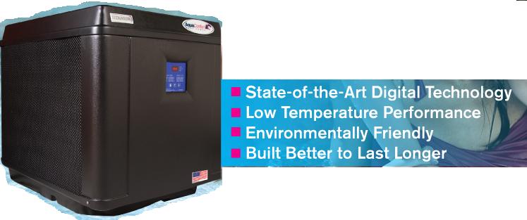 Heat Pumps Amp Pool Heaters Aqua Comfort Effecient And