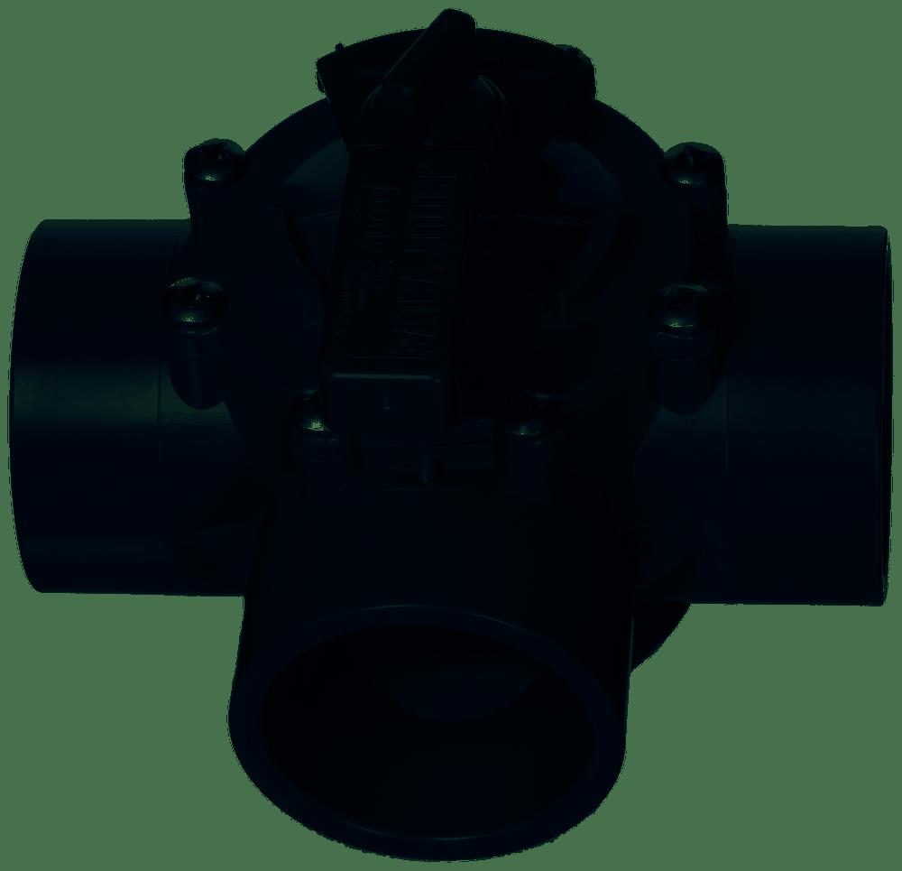 """Jandy 2""""-2.5"""" 3-Port CPVC Gry Valve (2875)"""