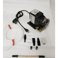 "Stenner Peristaltic Pump 120V, ,Chlorinator w 3/8"" Accessories 2.5 to 50 gpd (45MJL5A3STAAA)"
