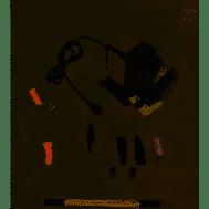 Stenner Peristaltic Pump 120V, 170 gpd double head, low pressure w/3/8' Santoprene tubing (170JL5A3STAA)