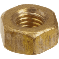 Pentair 1/4-20-Inch Union Brass Nut Replacement Pool and Spa Pump C36-4D (STA-101-9766)