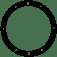 Pentair Vinyl Spa Niche Gasket 79204600 (AMP-301-1244)
