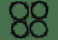 """Raypak 2"""" O-Ring Kit 006724F (RAY-151-1294)"""